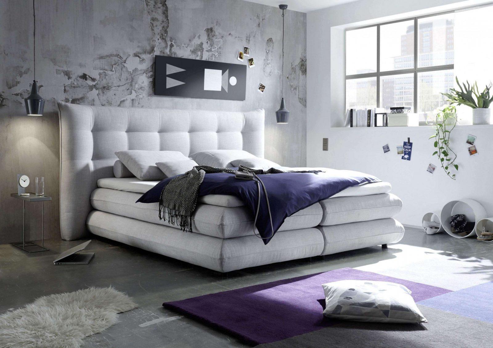 Luxus Komplett Schlafzimmer Boxspringbett Designideen  All von Schlafzimmer Ideen Mit Boxspringbett Bild