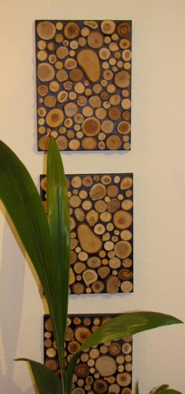 Pin Von Adnan Auf Adnan In 2019  Holzscheiben Holzscheiben von Holz Dekoration Wand Bild
