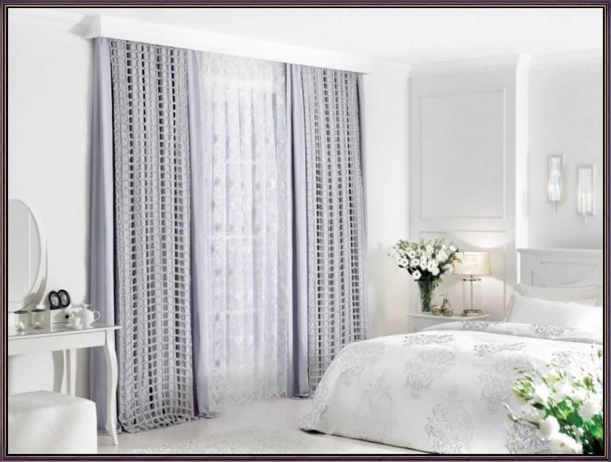 Schlafzimmer Gardinen Blickdicht Ideen Fur Im Vorhange von Vorhänge Schlafzimmer Ideen Bild