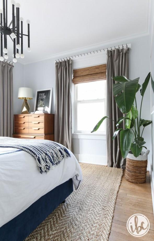 Schlafzimmer Ideen Modern Chic I Want To Decorate Pinterest von Schlafzimmer Ideen Grau Bild