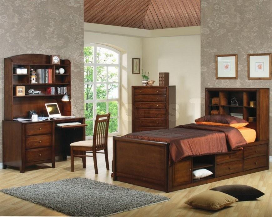 Schlafzimmer Stilvolle Schreibtisch Für Teenager von Ideen für Teenager-Schlafzimmer Photo
