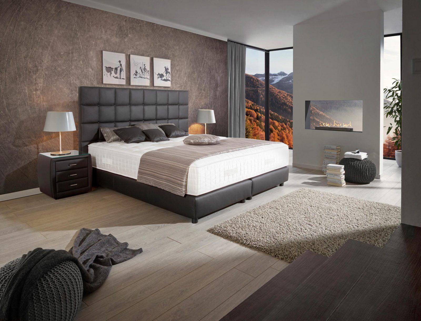 Schlafzimmerwandgestaltung Lass Dich Inspirieren von Schlafzimmer Boxspringbett Ideen Photo