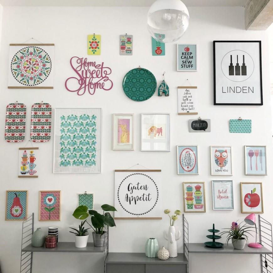 Schöne Wanddekoration Für Wohnung Oder Büro  Meesmees von Schöne Dekoration Für Die Wohnung Photo