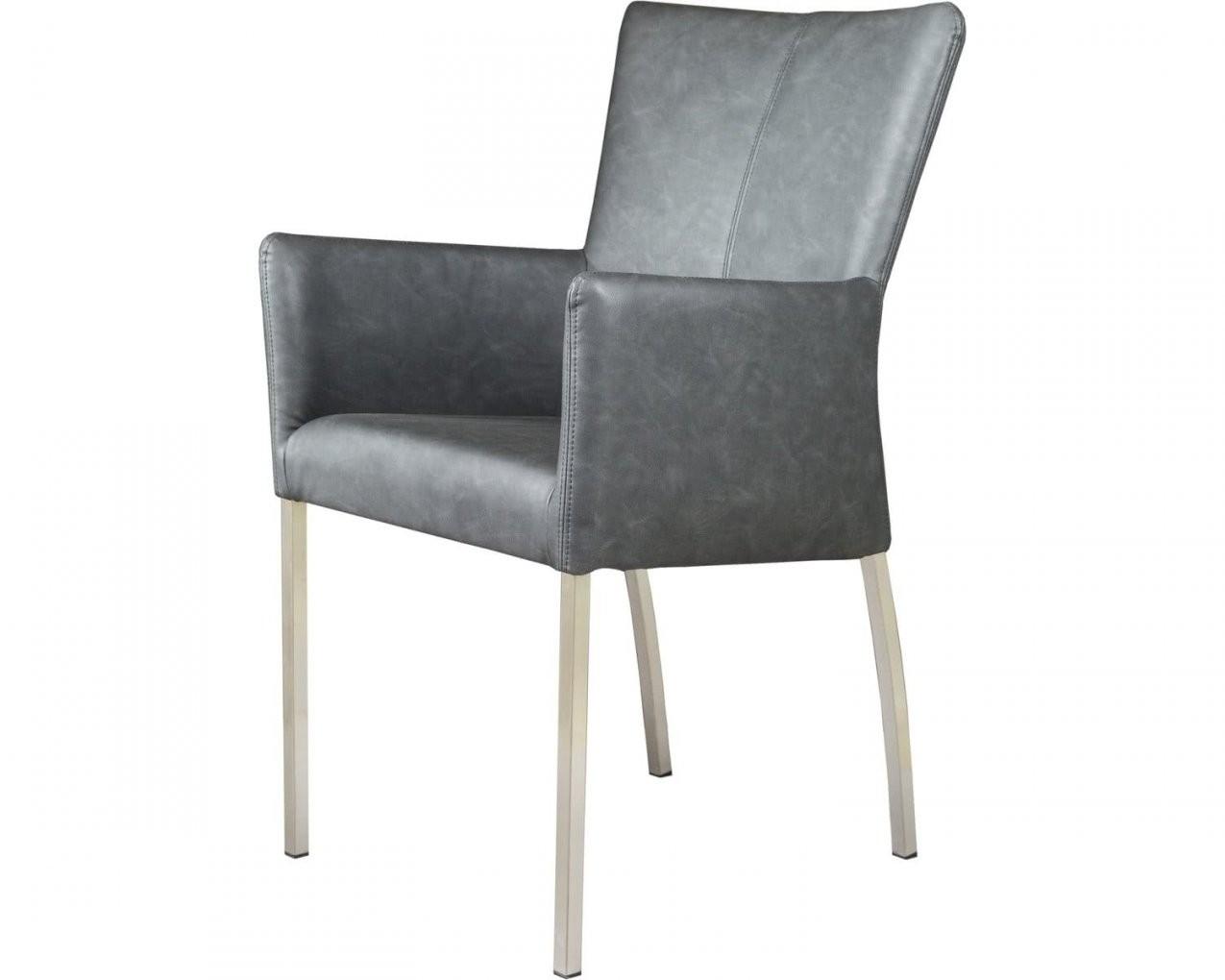 Sit Roma Vintage Stuhl Mit Armlehne Von Leder