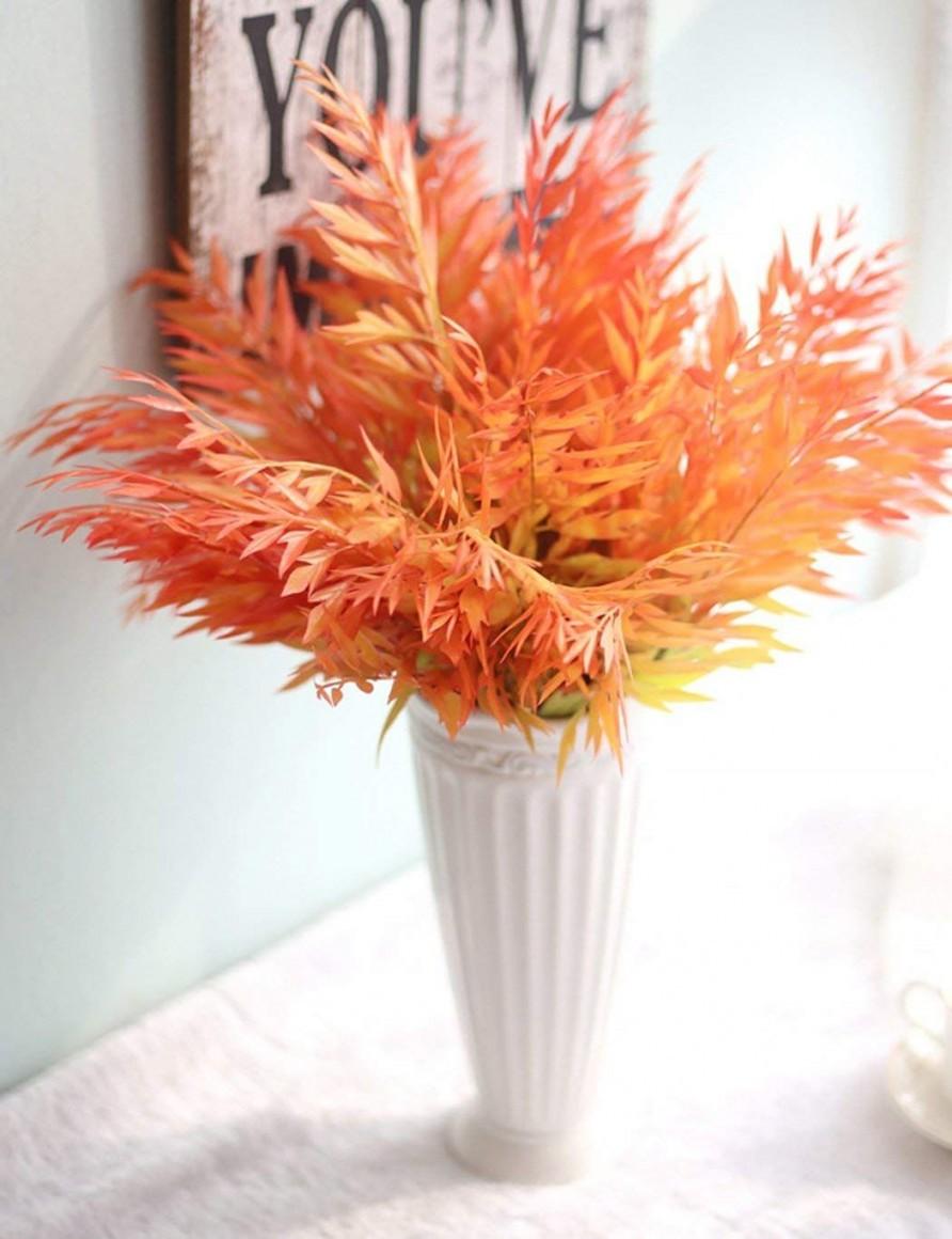 Smiela Künstliche Blumen Ahornblatt Blatt Deko Kunstblumen von Dekoration Blumen Künstliche Pflanzen Photo
