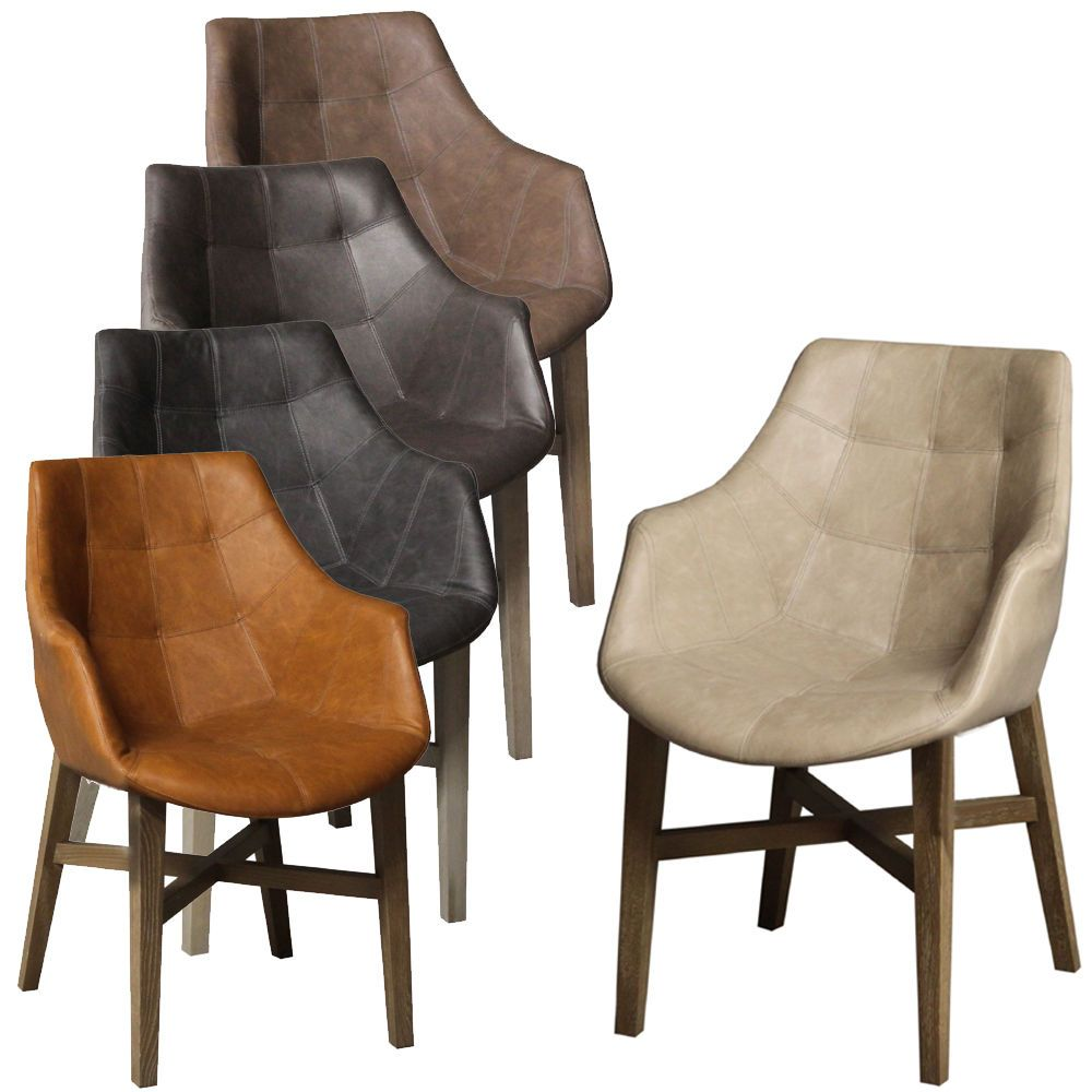 stühle mit armlehne grau