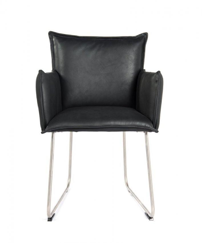 Stuhl Boo von Leder Esszimmerstühle Mit Armlehne Bild