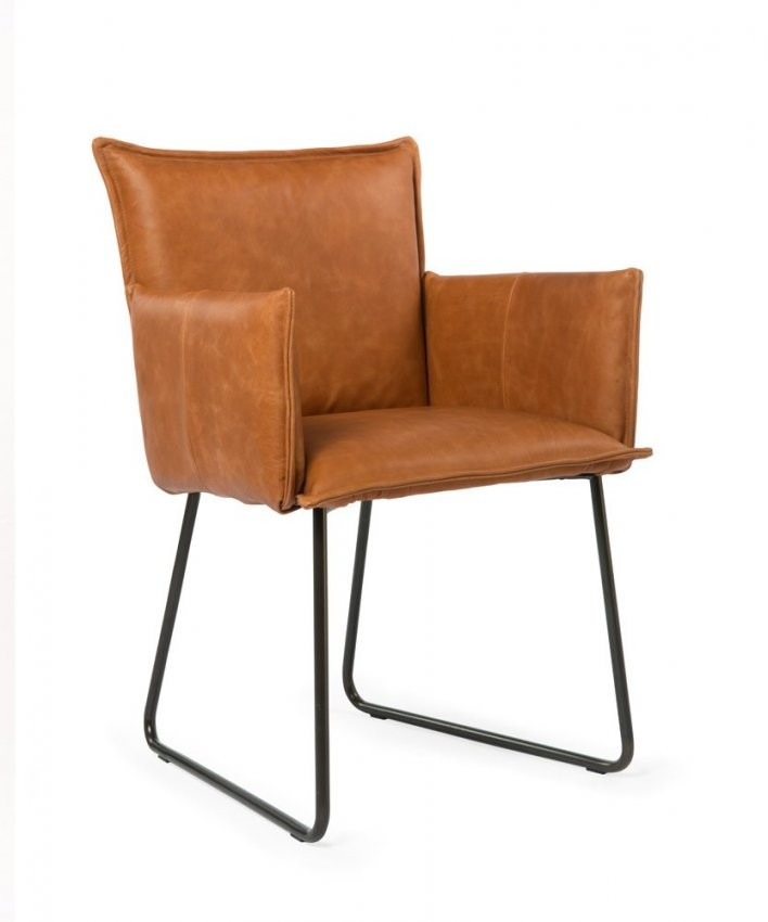 Stuhl Duke von Leder Esszimmerstühle Mit Armlehne Photo