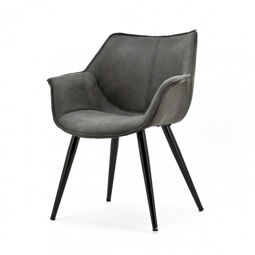 Stuhl Grau Mit Armlehne Stuhl Gepolstert Grau von Esszimmerstühle Grau Mit Armlehne Photo