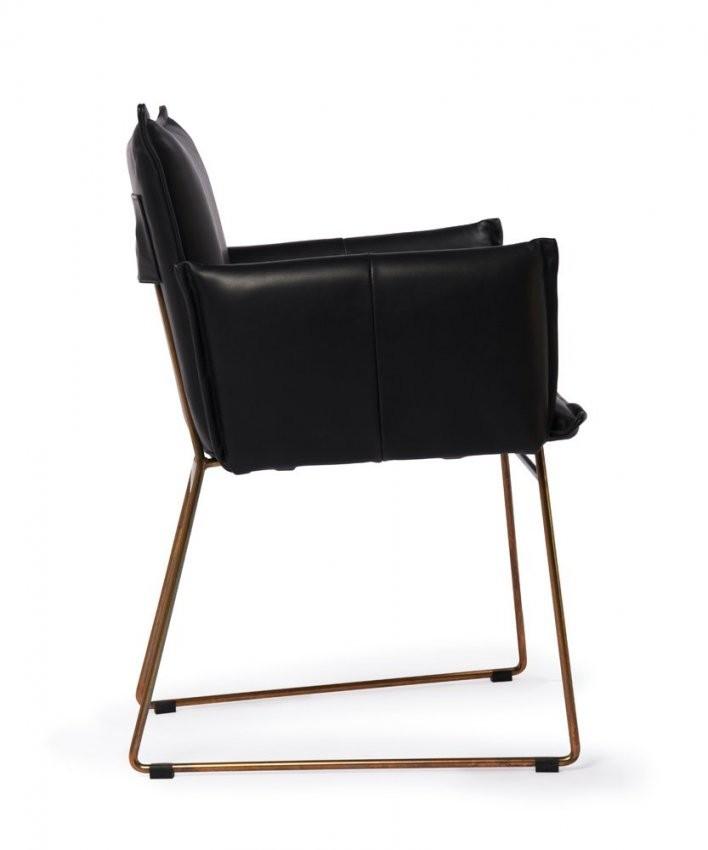 Stuhl Knight von Leder Esszimmerstühle Mit Armlehne Bild