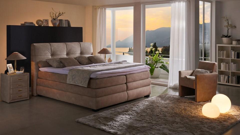 Trösser Schlafzimmer Betten Boxspringbett Boxspringbett von Schlafzimmer Ideen Mit Boxspringbett Bild