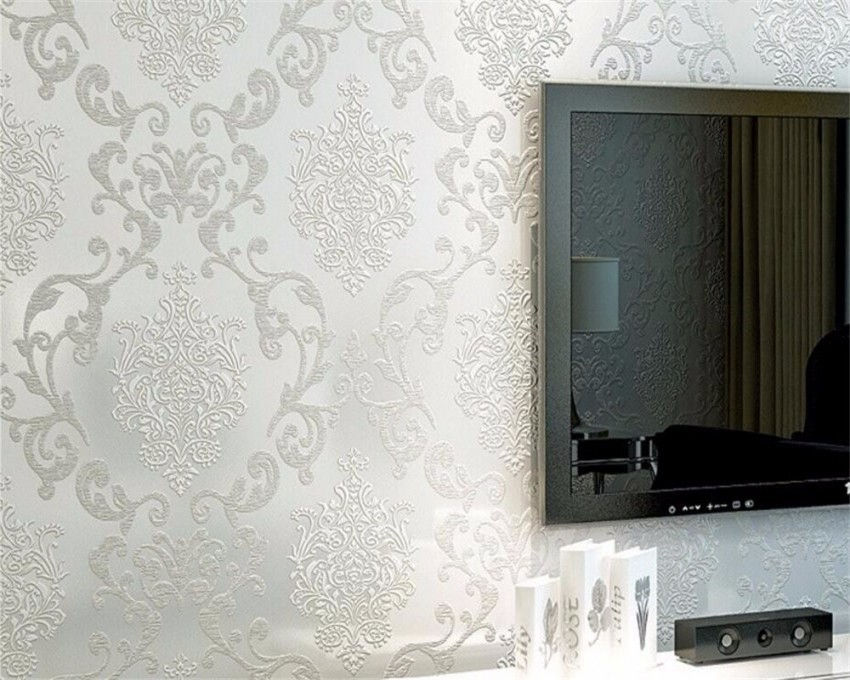 Us $2695 23% Offbeibehang Hause Dekoration Tapete Schlafzimmer Wohnzimmer  Video Wand Luxus Lila Gelb Tapete Rolle 3D Tapete Für Wändein Tapeten Aus von Wand Tapeten Dekoration Bild
