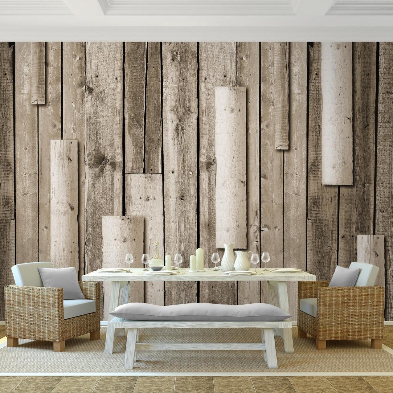 Wand Holz Vlies Foto Wandtapete  Xxl Dekoration Runa 9311Bp von Holz Dekoration Wand Photo