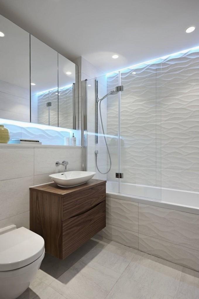 Wände Badezimmer Ohne Fliesen von Badezimmer Ideen Ohne Fliesen Bild