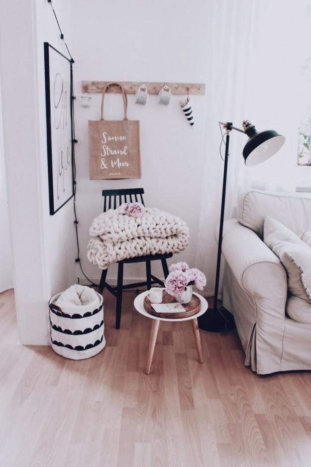 Wohnzimmer Dekoration  Ein Paar Tipps Zur Wandgestaltung von Schöne Dekoration Für Die Wohnung Photo