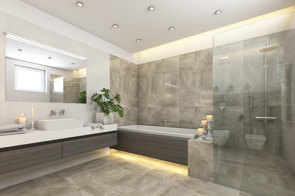 Xxlfliesen Der Badezimmertrend  Zuhause Bei Sam® von Fliesen Für Badezimmer Photo