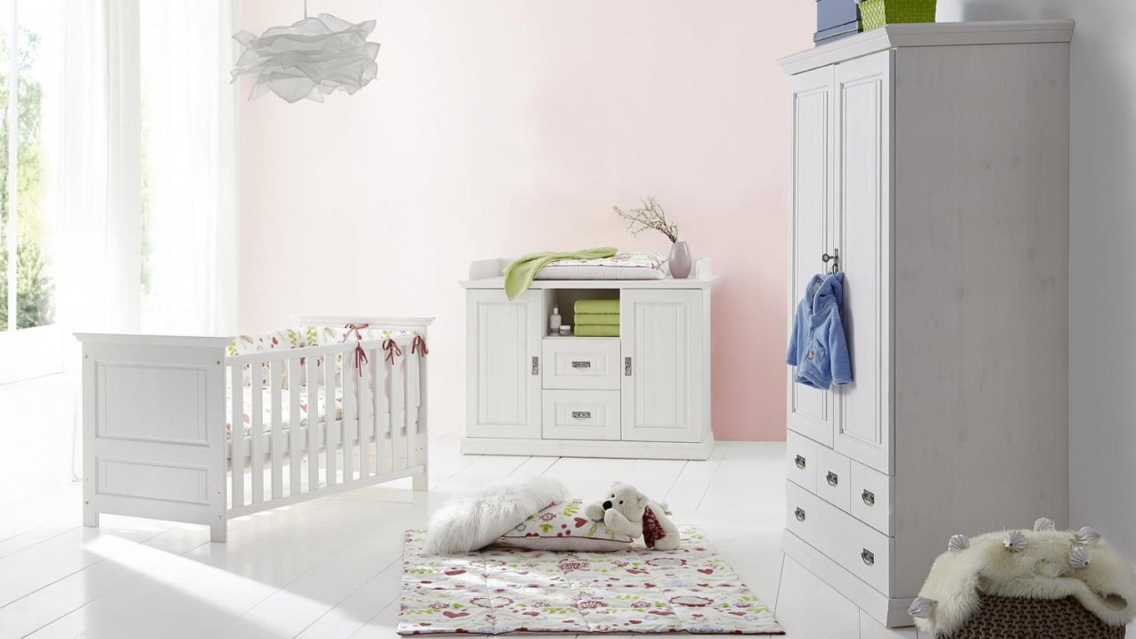 12 Kollektion Bilder Von Babyzimmer Weiß  Kinderzimmer Ideen von Babyzimmer Set Weiß Bild