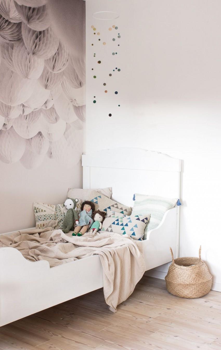 21 Beste Bilder Babyzimmer Wandgestaltung Ideen Für Die von Babyzimmer Wände Gestalten Ideen Photo