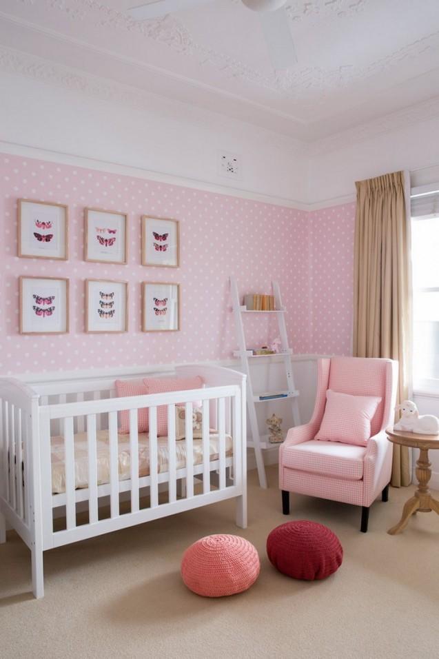 60 Ideen Für Babyzimmer Gestaltung  Möbel Und Deko Wählen von Babyzimmer Für Mädchen Bild