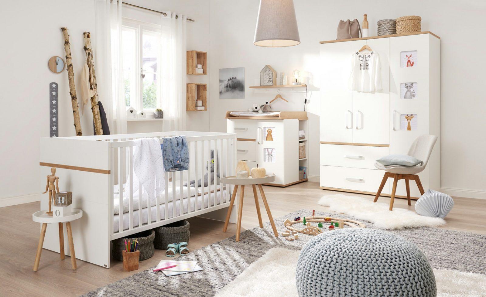 Babyzimmer 4Teilig Katharina Gefunden Bei Möbel Höffner von Babyzimmer Weiß Eiche Bild