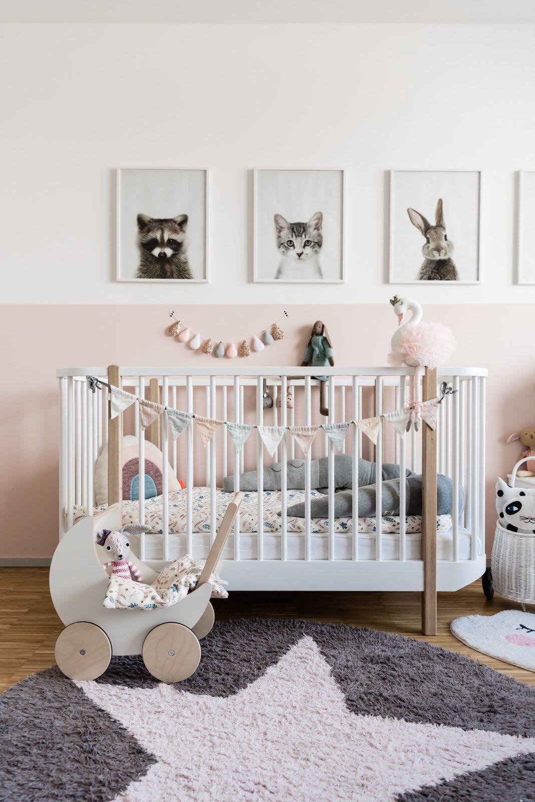 Babyzimmer Einrichten Ein Traum Für Kleine Mädchen von Babyzimmer Mädchen Einrichten Bild