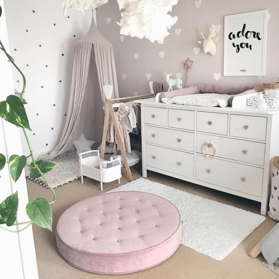 Babyzimmer 🌿 Anleitung Diy Wickelaufsatz Und Wandsticker von Wandsticker Babyzimmer Mädchen Photo