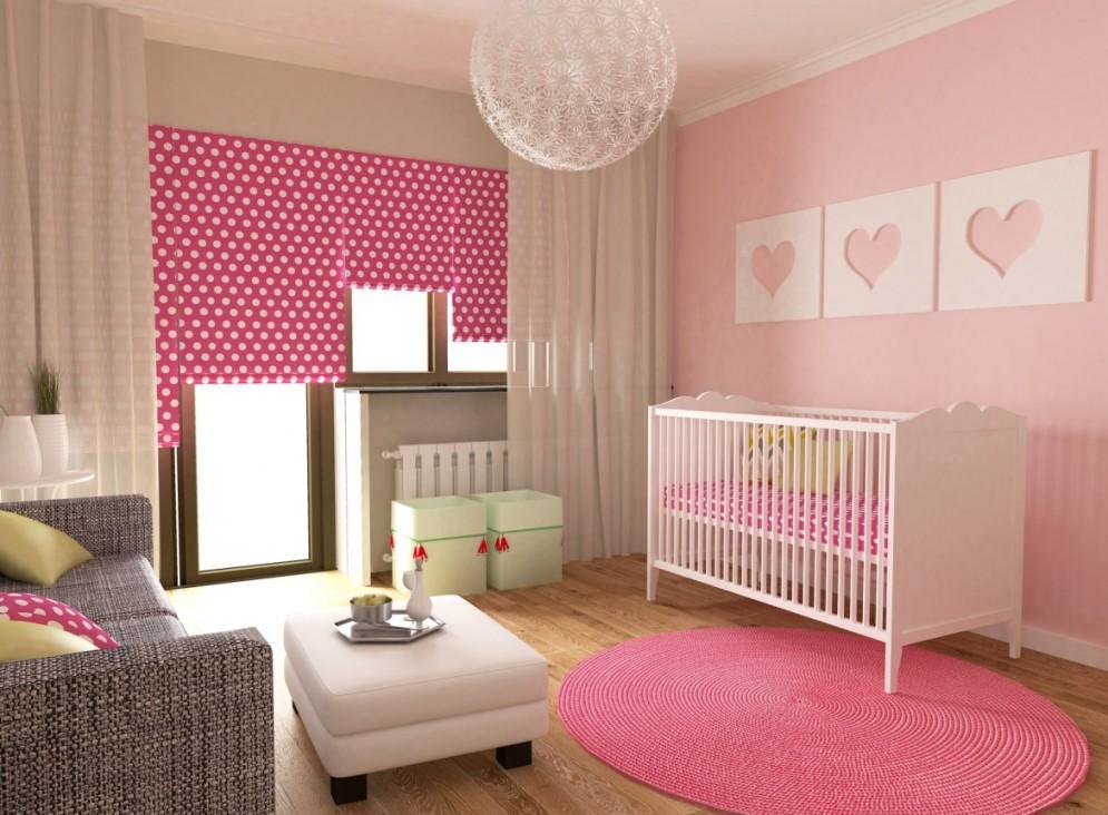 Babyzimmer Gestalten 50 Dekoideen Für Jungen  Mädchen von Babyzimmer Wände Gestalten Ideen Bild