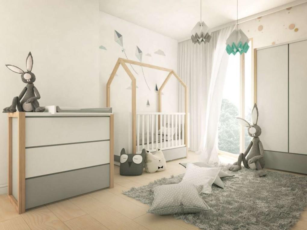 "Babyzimmer Komplett ""dinky Castle"" 4Teilig  For Kids In von Babyzimmer Komplett Massivholz Bild"
