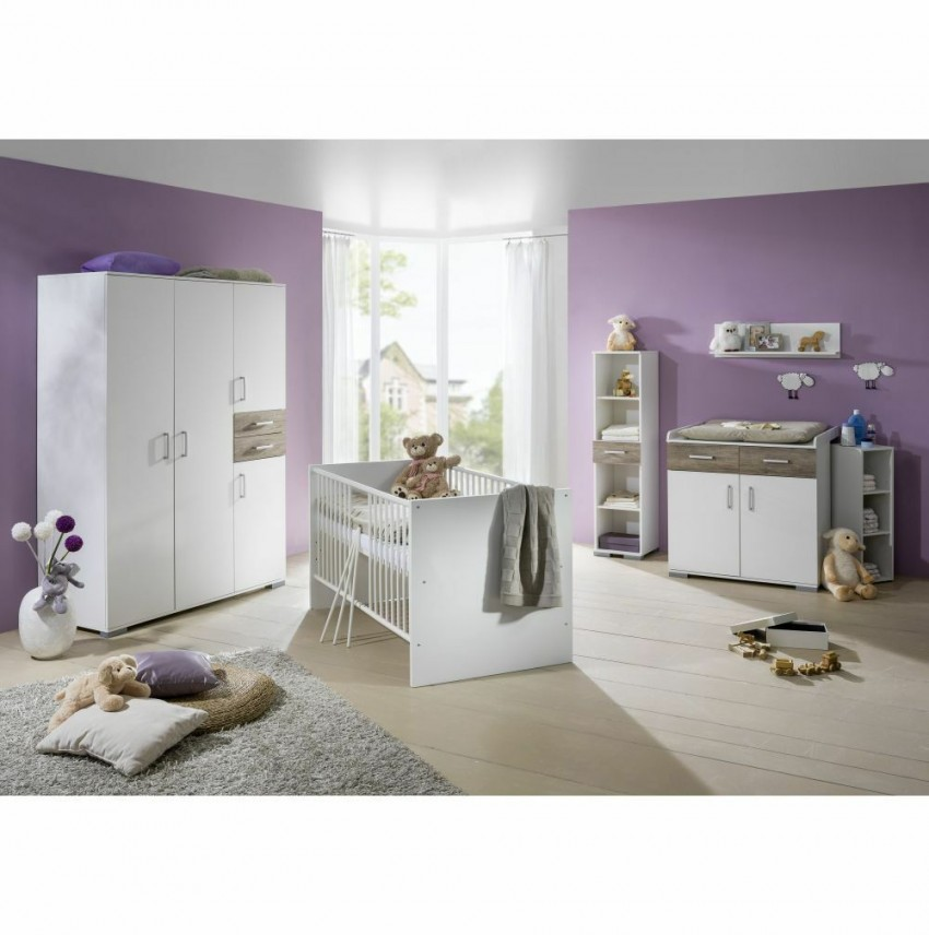 Babyzimmer Komplett Kinderzimmer Babymöbel Wickeltisch von Babyzimmer Zwillinge Komplett Bild