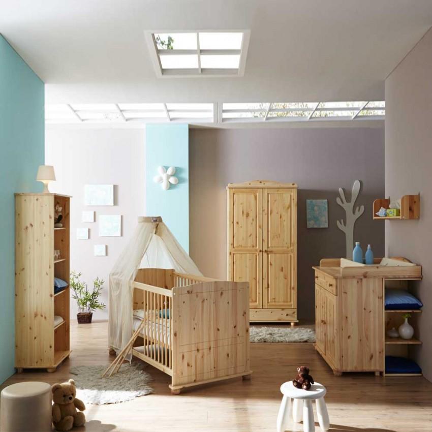 Babyzimmer Komplett Skate Nussbaumwei 8400 Buy Now At von Babyzimmer Komplett Massivholz Bild