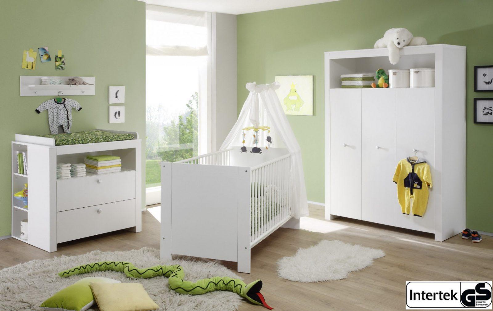 Babyzimmer Olivia 5Teilig Mit Regalen Weiß Design von Babyzimmer Weiß Hochglanz Bild