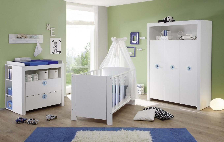 Babyzimmer Set Olivia Weiß 2Teilig Babybett Und Kleiderschrank von Babyzimmer Set Weiß Bild