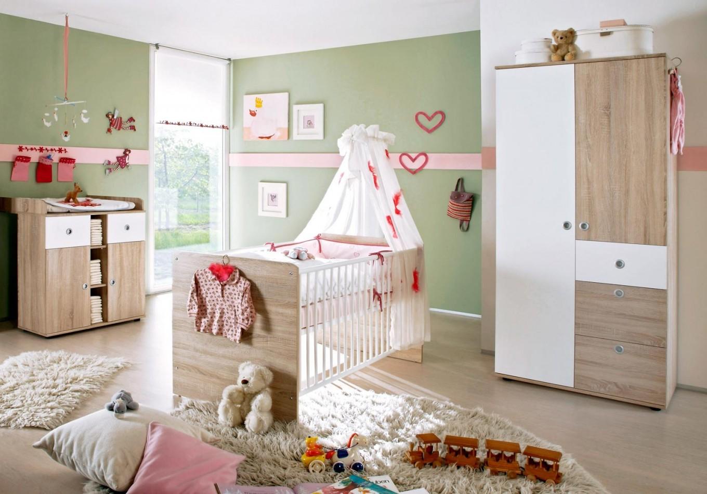 Babyzimmer Wiki 1 In Eiche Sonoma  Weiß von Babyzimmer Weiß Eiche Photo