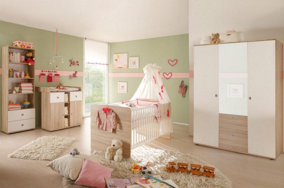 Babyzimmer Wiki 2 In Eiche Sonoma  Weiß von Babyzimmer Weiß Eiche Photo