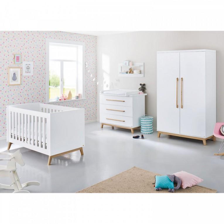 Babyzimmerset Riva Kids (3Teilig) von Babyzimmer Set Weiß Photo