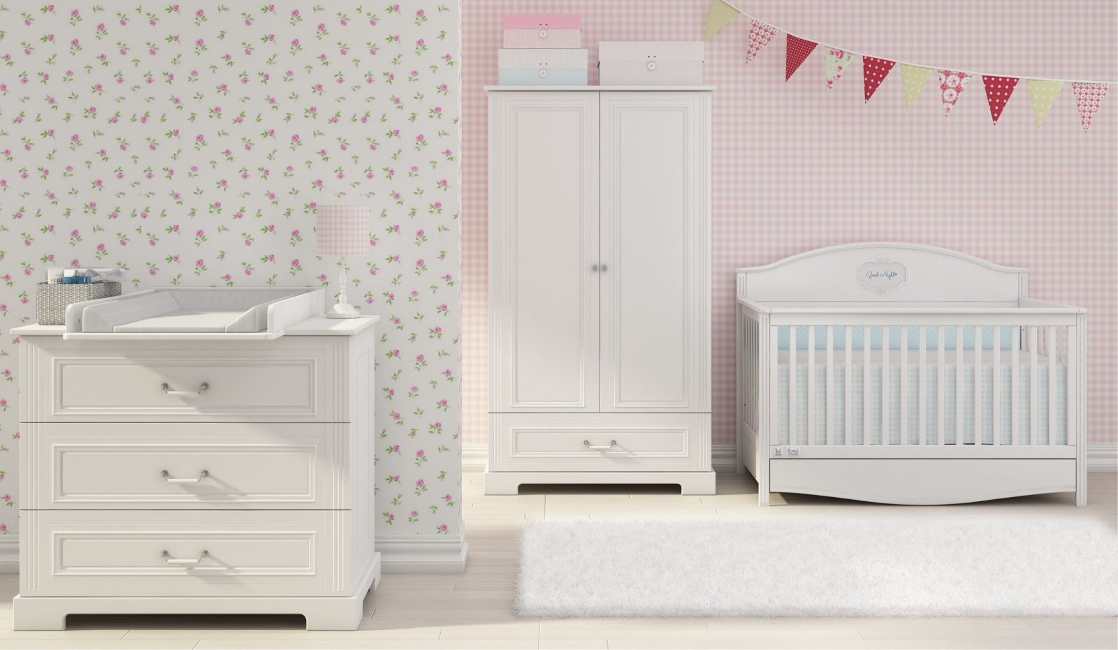 Bellamy  Nursery Inspirations  Nursery Furniture Sets von Günstige Babyzimmer Komplett Bild