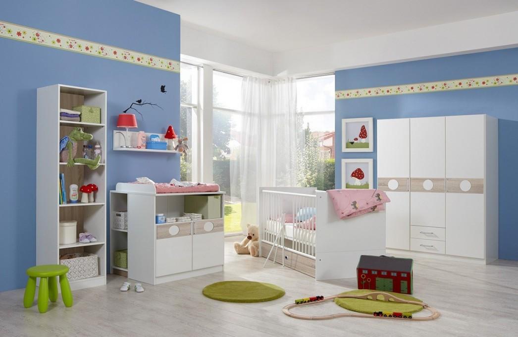 Designer Babyzimmer Kimi V2 von Günstige Babyzimmer Möbel Bild