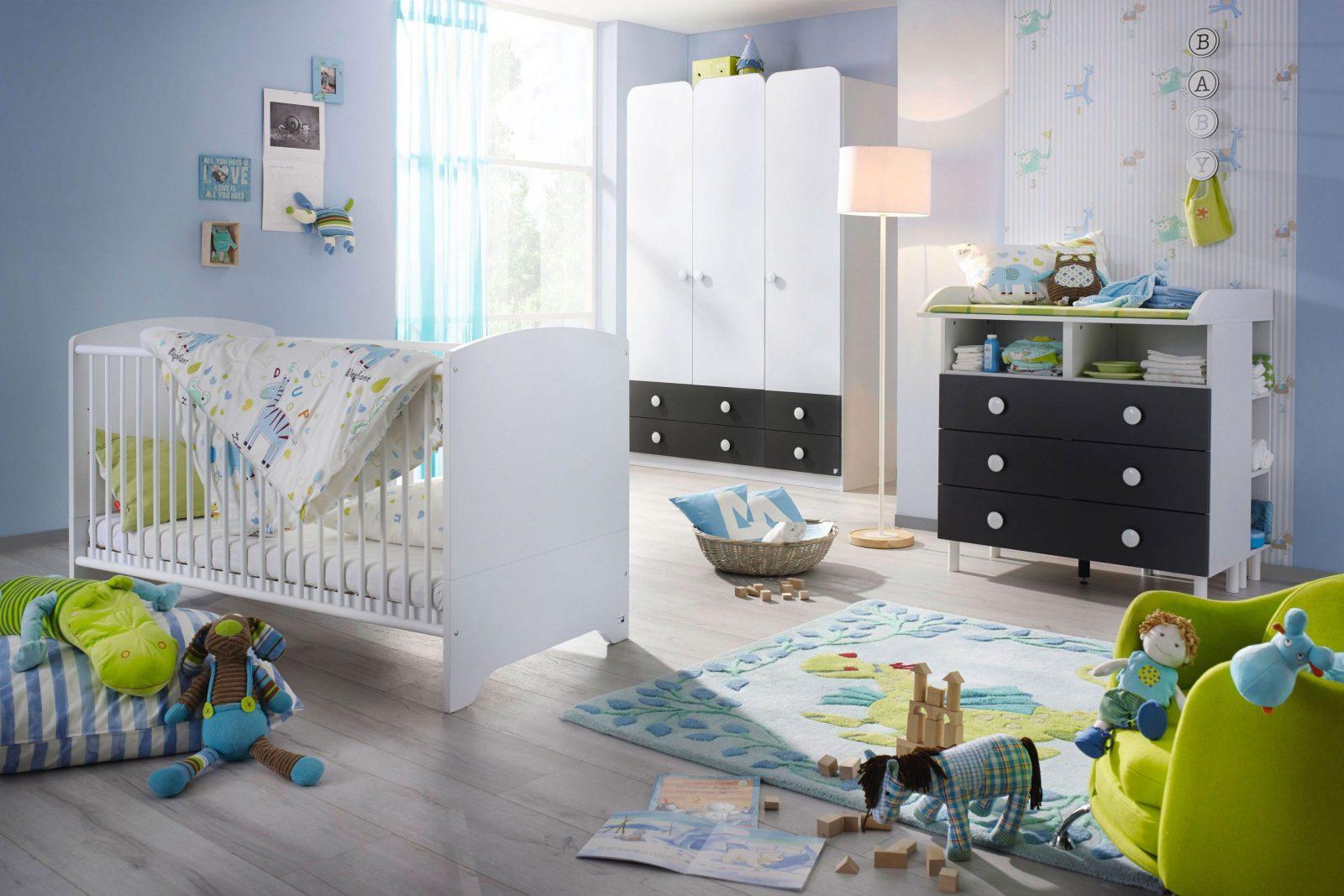 Filipo Von Rauch Pack's  Babyzimmerset Weiß  Graumetallic von Babyzimmer Weiß Grau Bild
