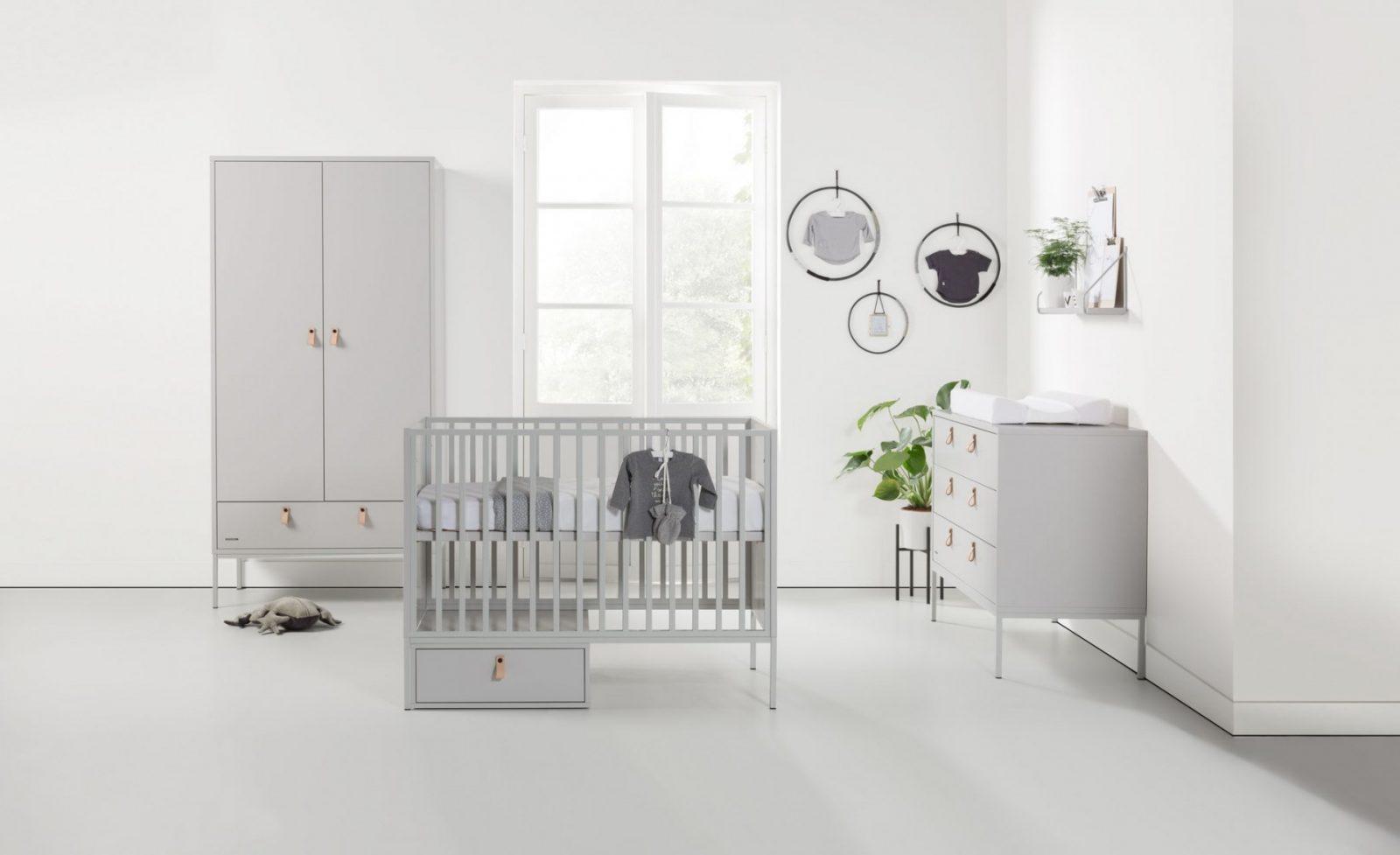 Kidsmill Kinderzimmer Komplettset Amy Grau  Home von Babyzimmer Komplett Set Grau Bild