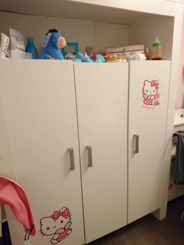 Kinderzimmer  Babyzimmer  Babybett Wickeltisch Plus Kinderzimmerschrank von Babyzimmer Zwillinge Komplett Photo