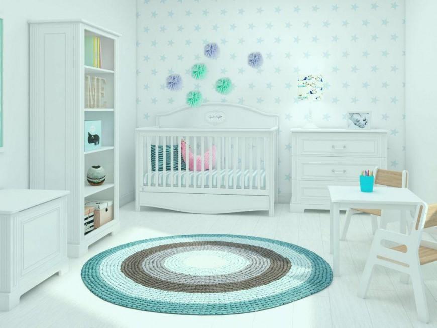 Kinderzimmer Grau Mint von Babyzimmer Grau Mint Bild