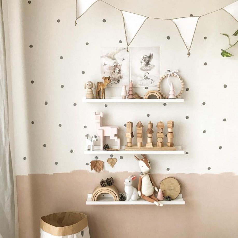 Kinderzimmer Mädchen Junge Idee Einrichten Wandgestaltung von Wandsticker Babyzimmer Mädchen Photo