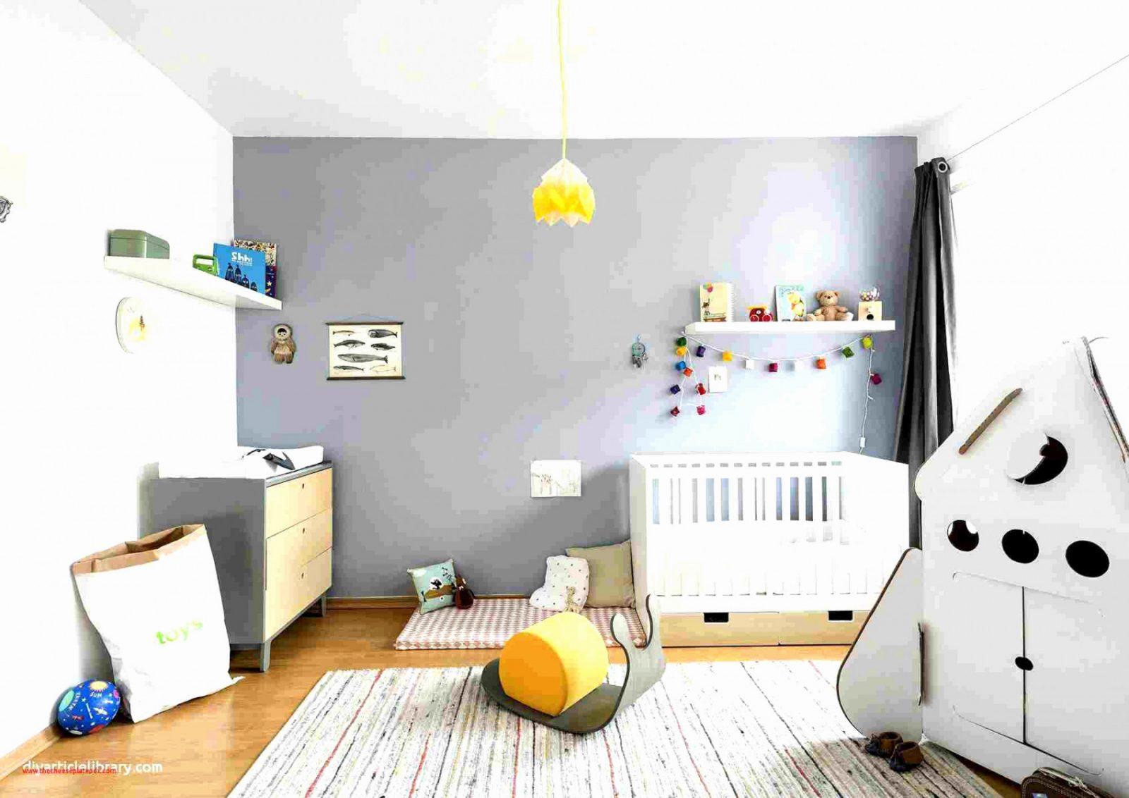 Kinderzimmer Modern Das Beste Von Ideen Wandgestaltung von Babyzimmer Wand Ideen Bild