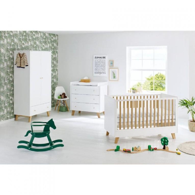Kinderzimmer Pan 2Türig Breit  Zwillinge  Kinder Möbel von Babyzimmer Zwillinge Komplett Bild