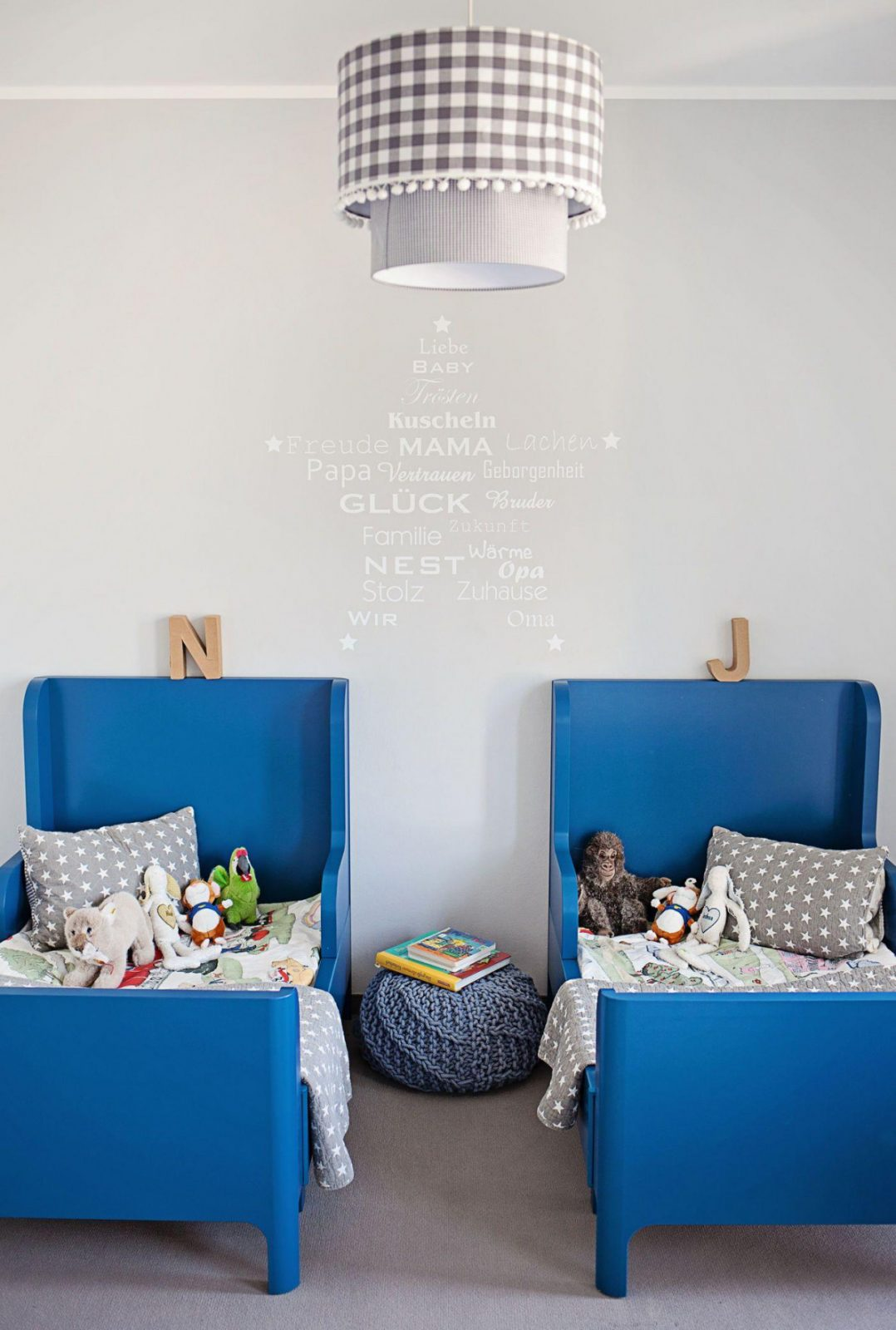 Kinderzimmer Wandgestaltung – Hauser Inspirieren Design von Babyzimmer Wände Gestalten Ideen Bild