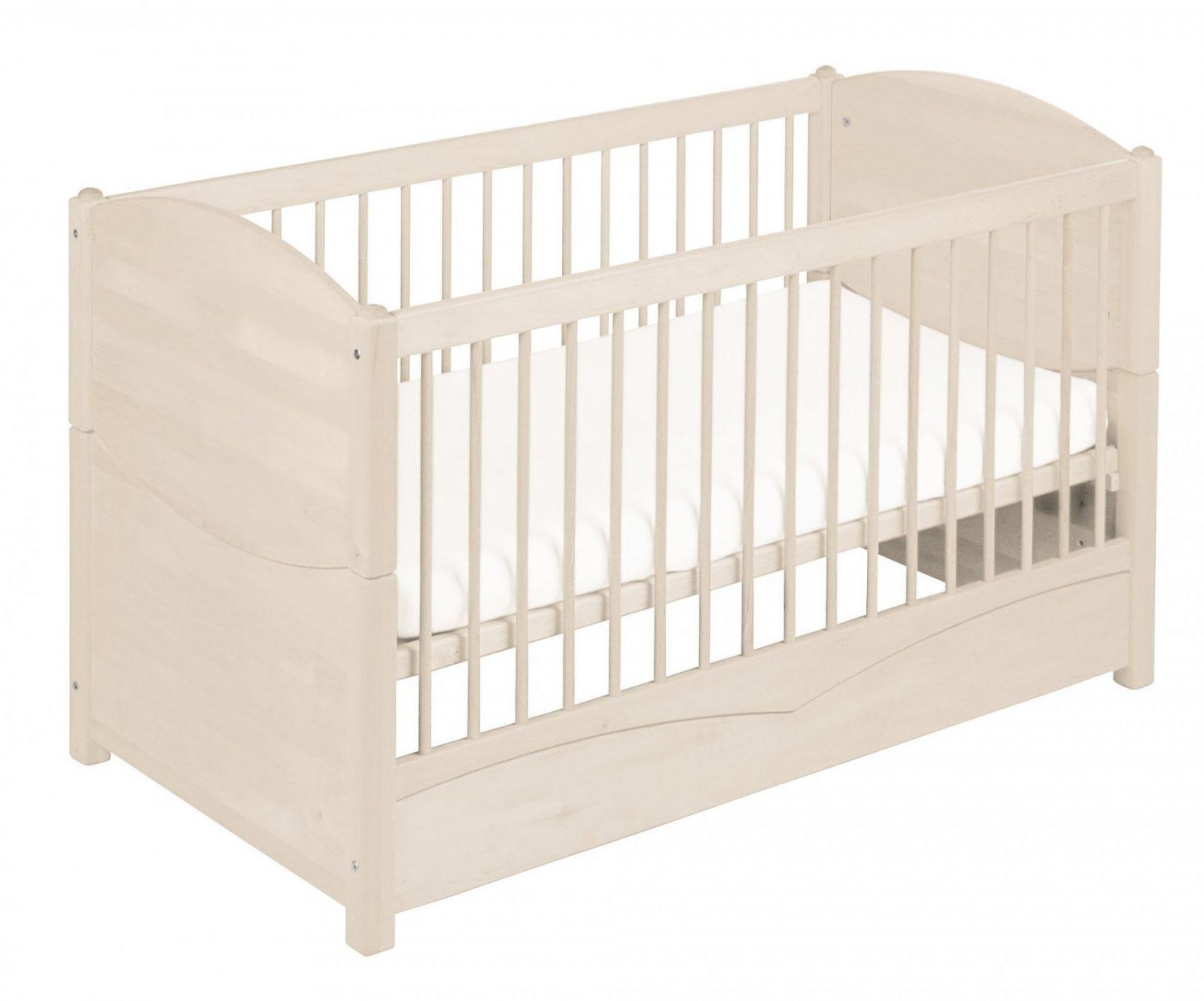 Komplettset Luca Babyzimmer Kiefer Weiß Lasiert Mit Bionik Matratze von Babyzimmer Komplett Mit Matratze Bild