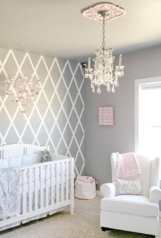 Loschussler  Baby Room  Kinderzimmer Für Mädchen von Babyzimmer Wand Ideen Photo