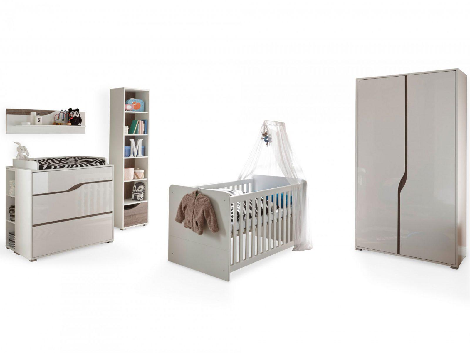 Monolito Komplettbabyzimmer Material Mdf Weiss Hochglanz von Babyzimmer Weiß Hochglanz Photo