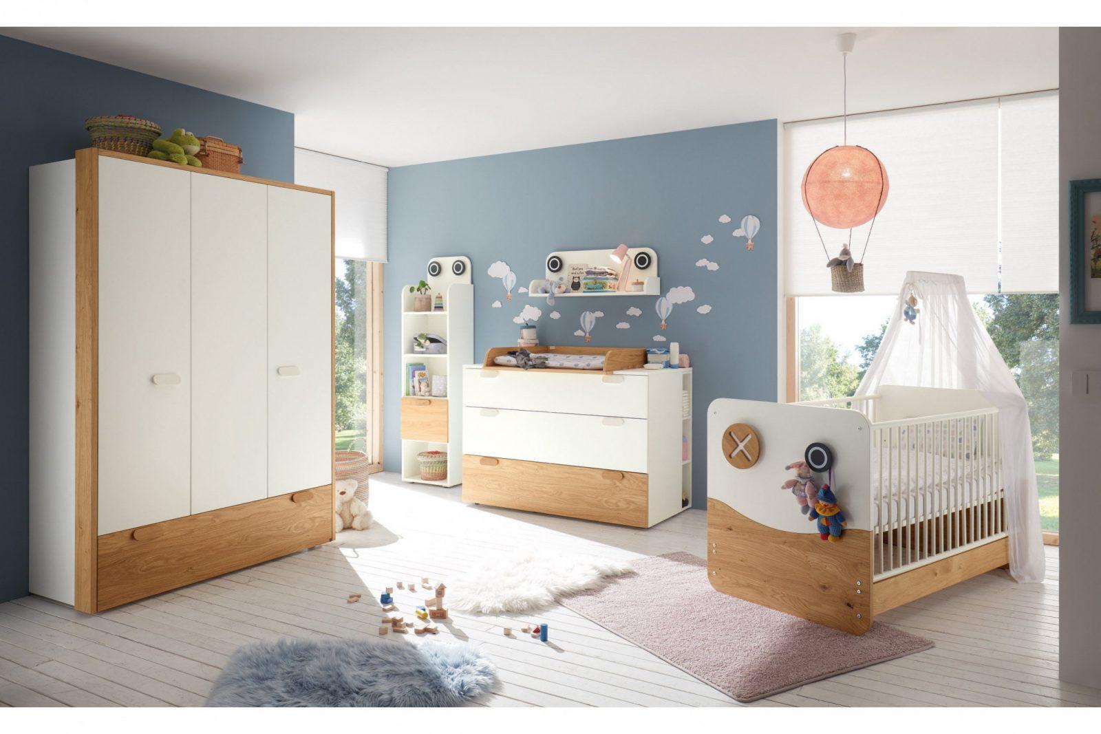 Now Minimo Von Hülsta  Babyzimmereinrichtung In Weiß  Eiche von Babyzimmer Weiß Eiche Photo