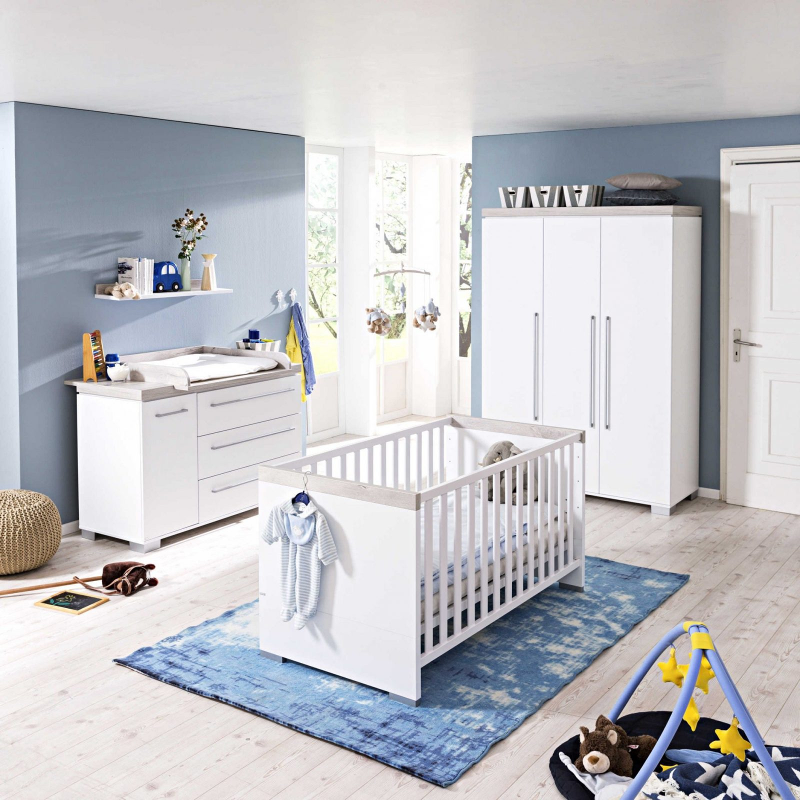 Paidi Babyzimmerset Kira 4Tlg  Babyzimmerkomplettsets von Günstige Babyzimmer Möbel Photo